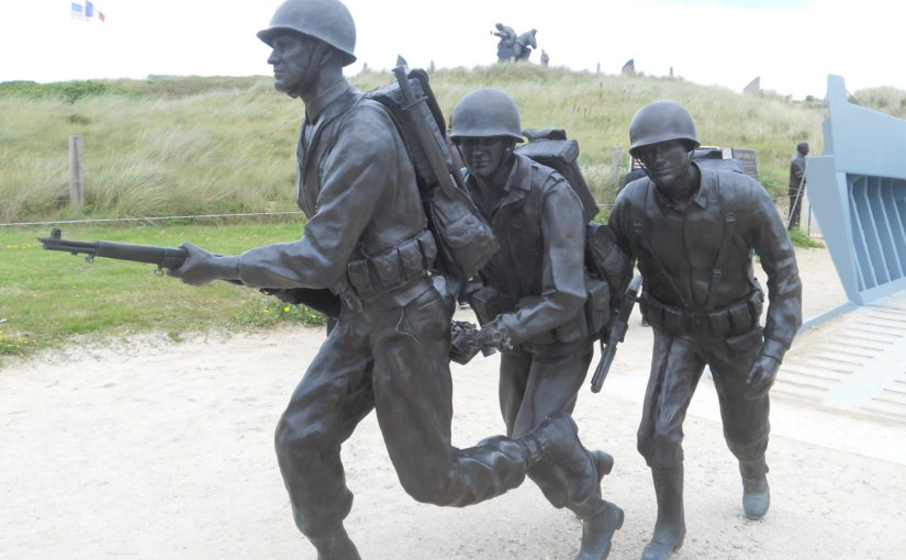 UTAH AND OMAHA BEACH D DAY LANDINGS